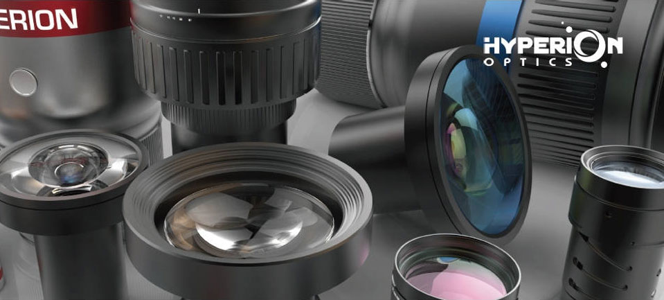 Hyperion optical design and manufacturing