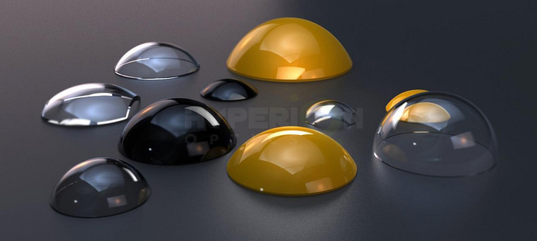 Glass domes design