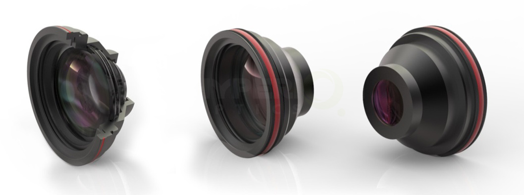 SL-Q Series F-Theta Scan Lenses to custom